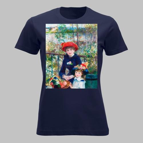 Schilderij 'Twee zusjes' van Pierre-Auguste Renoir