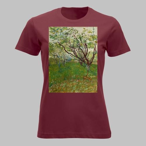 Boomgaard in bloei (1888) van Vincent van Gogh