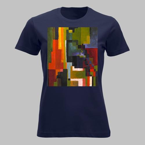 Gekleurde vormen 2 - colored forms II - abstract...