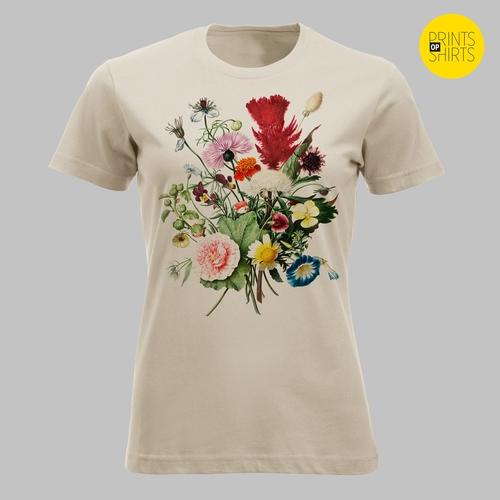 Boeket veldbloemen in mooie, vrolijke kleuren