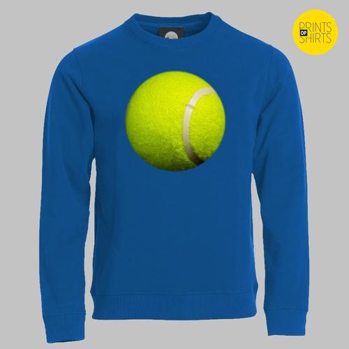 Tennisbal op je shirt