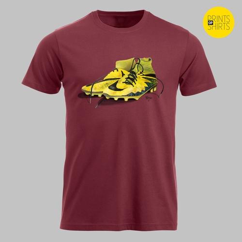 Gele voetbalschoenen