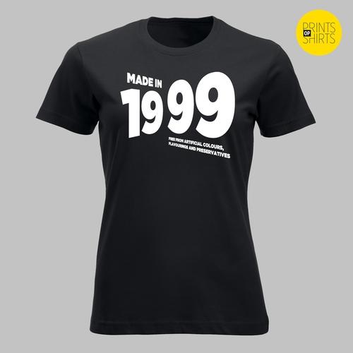 Geboren in 1999 - in wit