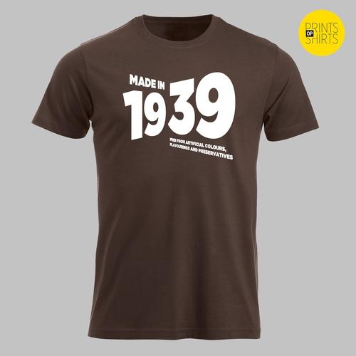 Geboren in 1939 - in wit