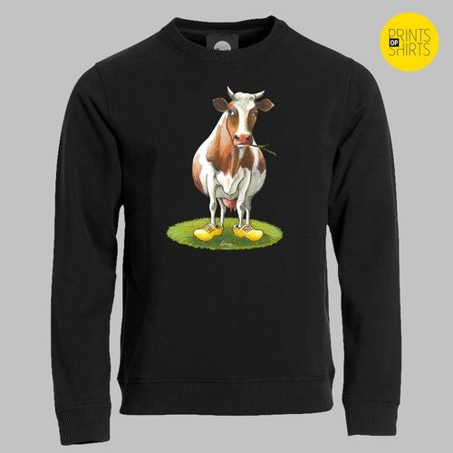 Koe met klompen