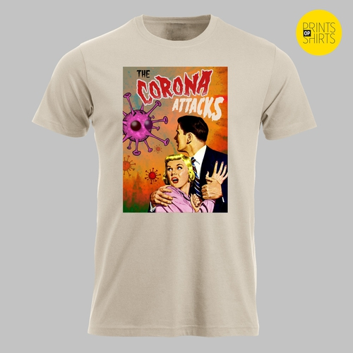 B-film: The Corona Attacks op je T-shirt
