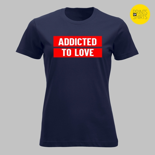 Addicted to love - in rood