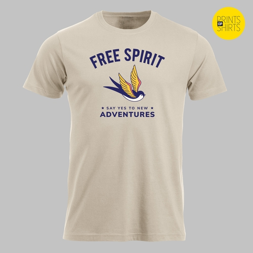 Free spirit, say yes to new adventures