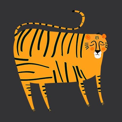 dikke tijger