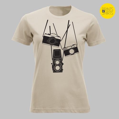 Met drie camera's op pad