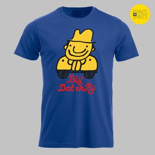 Vintage: Blij dat ik Rij op je shirt - 2