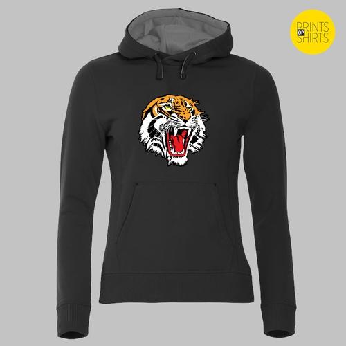 Brullende Siberische tijger