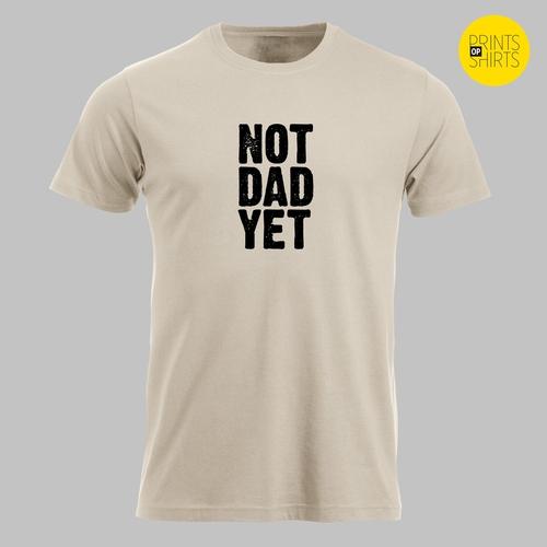 Nog geen vader, maar wel bijna?