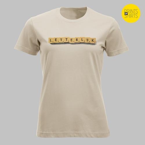 'Letterlijk' letterlijk op je shirt