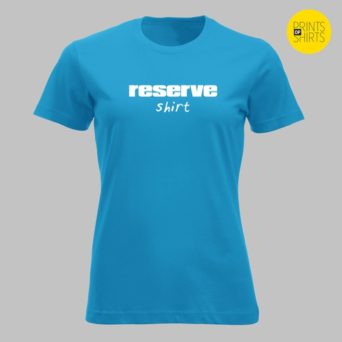 Reserve shirt