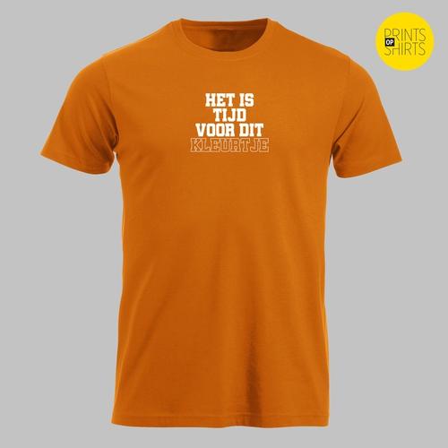 EK voetbal 2021 - Oranje! Het is tijd voor dit kleurtje