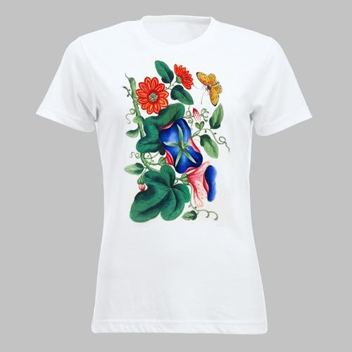 Vlinder en bloemen - 1