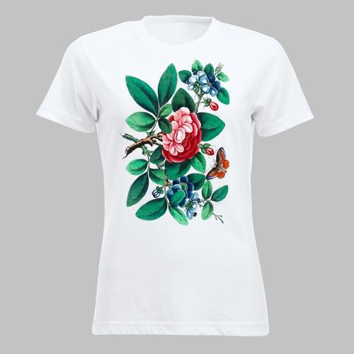 Vlinder en bloemen - 2