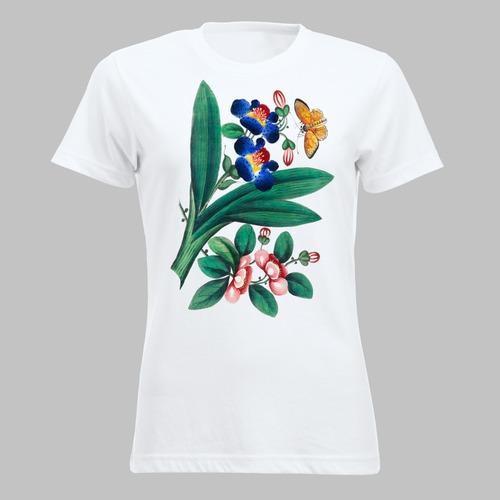 Vlinder en bloemen - 3