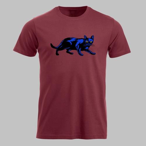 Zwarte Kat (blauw)