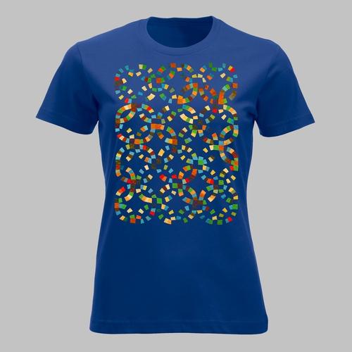 Kleurige confetti-achtige slingers