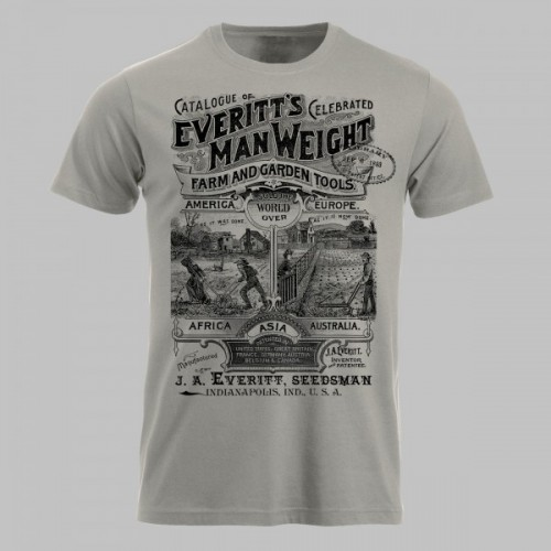 Everitt's farm and garden tools retro shirt