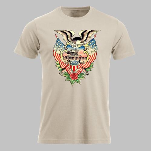 Vintage tatto U.S. navy