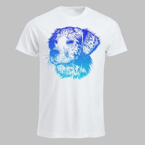 Hondenkop (blauw)
