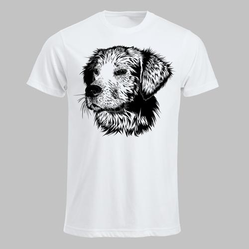 Hondenkop (zwart)