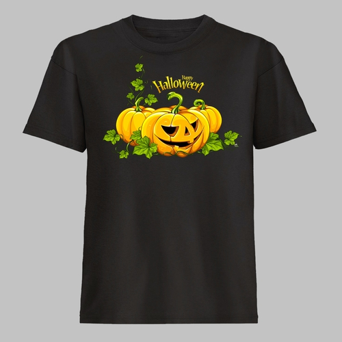 Happy halloween pumpkins pompoenen