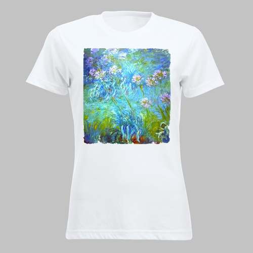 Lelieplant agapanthus van Claude Monet