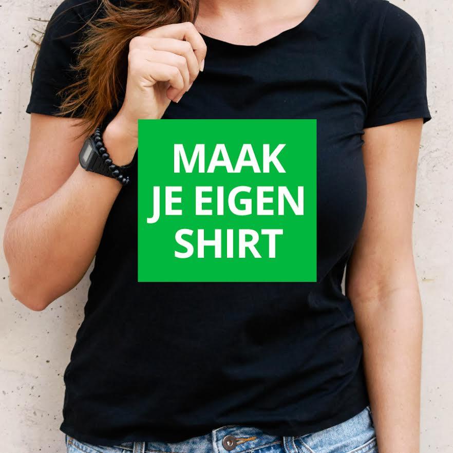 Ontwerp je eigen t-shirt (van 100% katoen) voor 15 euro!